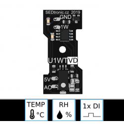 UNICA 1-wire typ U1WTVD